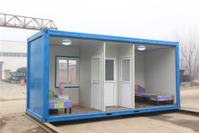 China Best Supplier Recyclable Light Low Cost 20 ft prefabricated fiberglass houses and villas moveable