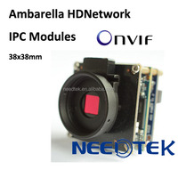 MP HD Ambarella progressive CMOS ip board camera with ptz,onvif and h.264