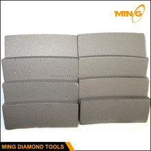 Hard /Soft Bond Diamond Sandstone Cutting Segment