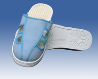 2015 new PU/PVC/TPR Sole ESD work shoe slipper from chengdu china supplier anti-static