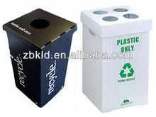 Durable Eco-friendly&Waterproof plastic folding corrugated pp recycle bin