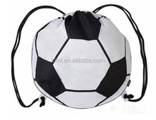 Outdoor recyclable mesh bag drawstring