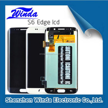 china wholesale cheap mobile phones display for galaxy s6 oem lcd display touch screen china supplier