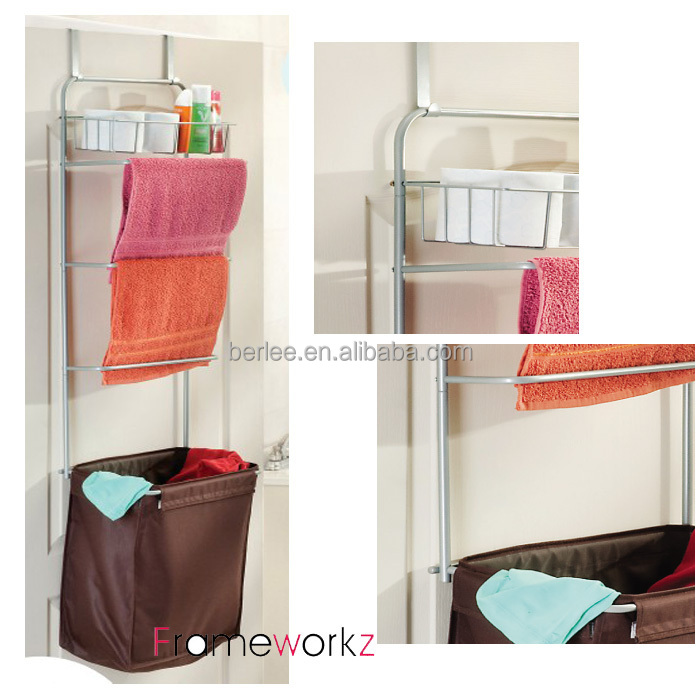 Over Door Hanging Laundry Centre Hamper Laundry Sorter