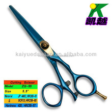 rotary thumb hairdressing scissors
