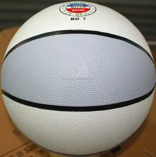 Newest unique league colored rubber basketballs blue