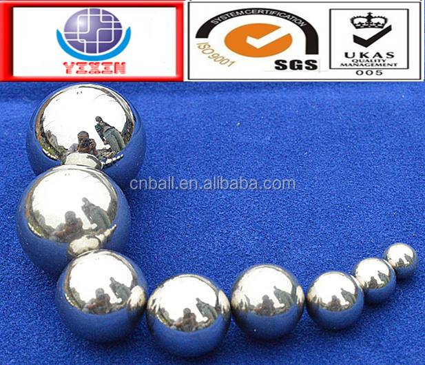 SUS304 316l 440C 420 stainless steel ball made in china