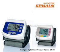 CE0120 Approved Blue Wrist Blood Pressure Monitor