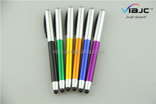 Wholesale simple style twist stylus pen products china plastic ballpoint pen in factory price