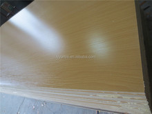 Melamine MDF wood thickness/lamination sheets/colored mdf
