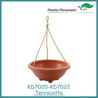 KD7020 rope hanging flower planters
