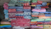 2015 promotional goods!Cheap Various Cotton Textile Stock lots,shipping from Guangzhou to your port