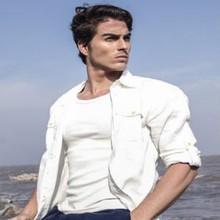 2014 italian high quality cotton shirt 3xl casual shirts for men