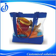 Promotional Cheap Beach PVC Clear Tote Bag
