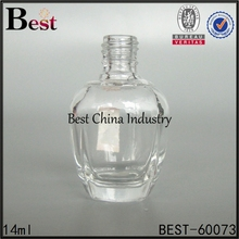 alibaba china 14ml cosmetics packaging glass container for nail polish