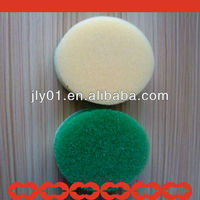 round sponge dish cleaning scrubber