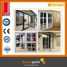 Advanced Technology Aluminum Clading Wood Casement Door with High Value
