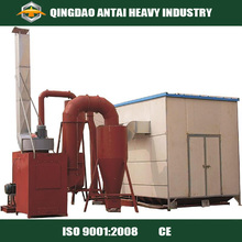 Sand Blasting Room for Steel Fabricators/Construction Equipment