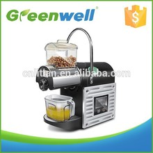Small MOQ acceptable Professional best hot sale small cold home oil press machine use for coconut