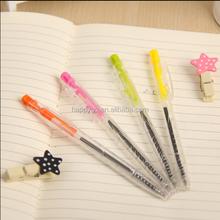 clear ball pen refill
