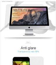 Top selling anti glare film for laptop&monitor&pc