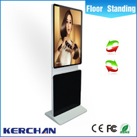 Factory price 42 inch rotating indoor amdroid system tv led touch screen digital sign displays