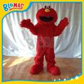felpa larga roja Elmo Sesame Street traje de la mascota