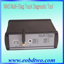 2015 Newest Promotion WAS Multi-diag For heavy Duty Truck WAS with bluetooth& multilanguages WAS Multi-Diag