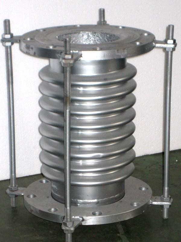 Bellows expansion metal joint stainless