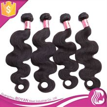 Unprocessed 100% Natural Human Hair Could Be Dyed Any Color Hair Extension Child