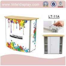 cheap reception counter for office and exhibition use