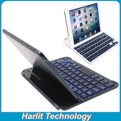 Whole Sale Backlit Bluetooth Keyboard For iPad mini 4 Magnetic Aluminum Bluetooth Keyboard For Mini iPad