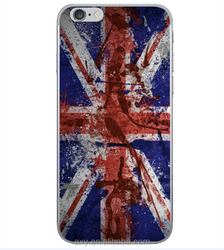 UK Flag design plastic cover for iPhone 6
