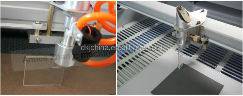 60w Small Co2 Laser Cutting Machine Infrared Positioning Honey Comb Working Table ZK-5030 500*300mm