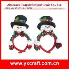 christmas decoration (ZY14Y37-1-2) snowman Christmas decoration