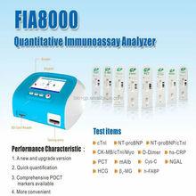point-of-care test -- FIA8000 chemistry Analyzer CE&ISO marked
