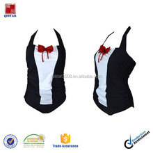 Japan style one piece swimsuit with lovely bow