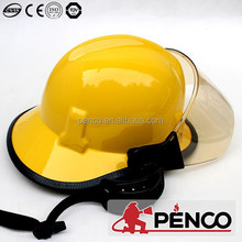 Industrial American construction safety helmet for sale with visor