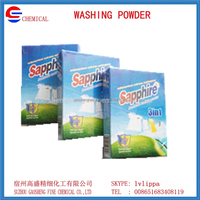 Detergent washing powder laundry detergent powder packing in box