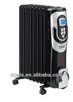 LCD&LED digital oil heater&2014 luxurious oil filled radiator