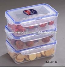 Favorites compare transparent plastic food container