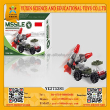 YUXIN Educational Missile Fighter Plastic Intelligent Plastic Building Blocks Toys