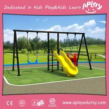 Outdoor garden children playground childrens swings and slide swing chair AP SW3005