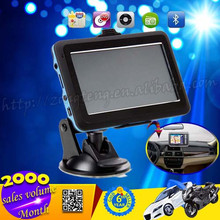 4.3 Inch Portable GPS Navigation Media Tek MT3351 With USA Canada And Mexico Map