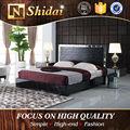 Más reciente dormitorio diseños de muebles, cama dormitorio LV-B807