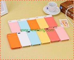 Fashion double color multi-function beauty mirror phone case For iphone 5 with card holder