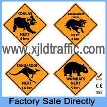 """Australia"" Animal Manufactory Low Price Traffic Sign"
