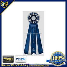 award ribbon rosette, 3000pcs without mold charges.