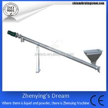 inclined stainless steel sugar industry screw conveyor