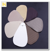 embossed and printed furniture leather / leather material for decoration / pattern embossed furniture leather